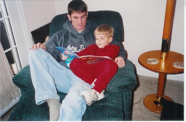 Keith with nephew Ryan